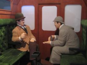 シャーロックホームズ & ワトソン
